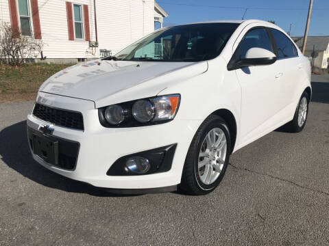 2012 Chevrolet Sonic for sale at D'Ambroise Auto Sales in Lowell MA