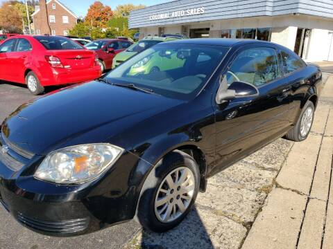 2010 Chevrolet Cobalt for sale at COLONIAL AUTO SALES in North Lima OH