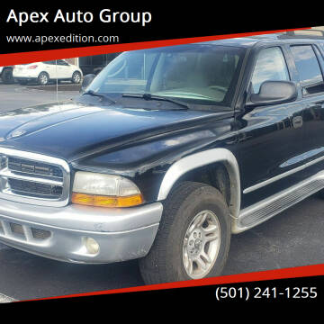 2002 Dodge Durango for sale at Apex Auto Group in Cabot AR