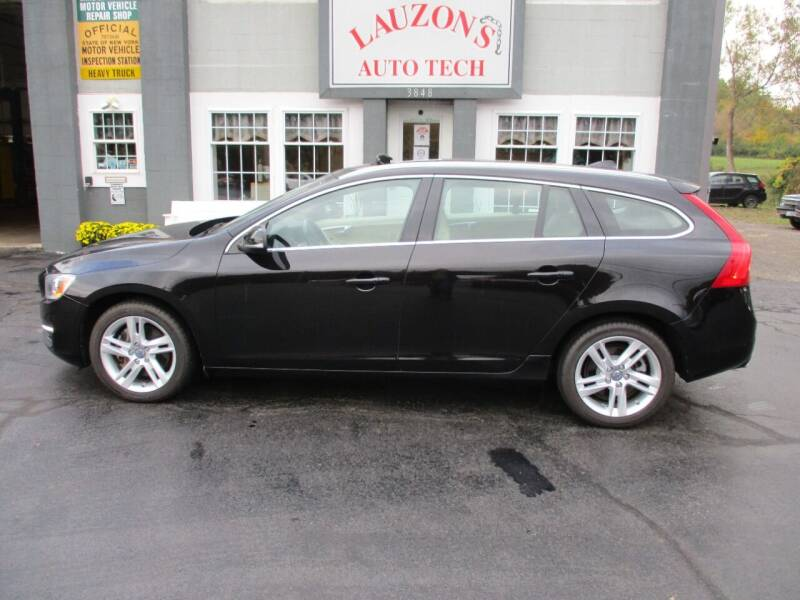 2015 Volvo V60 for sale at LAUZON'S AUTO TECH TOWING in Malone NY