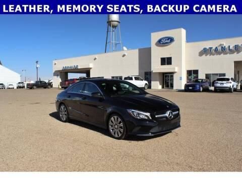 2018 Mercedes-Benz CLA for sale at STANLEY FORD ANDREWS in Andrews TX