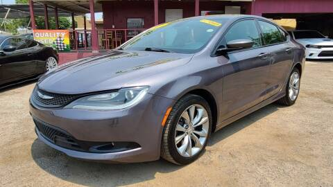 2016 Chrysler 200 for sale at Fast Trac Auto Sales in Phoenix AZ