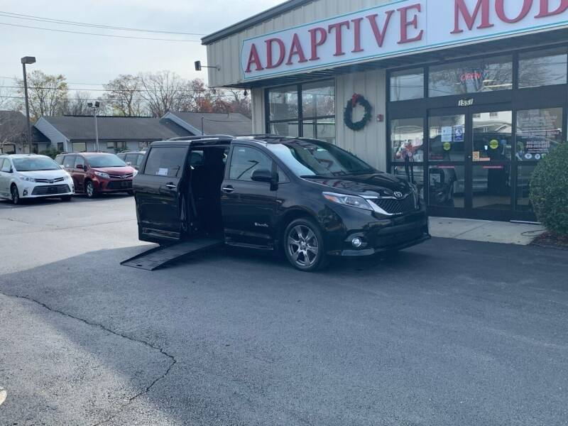 2017 Toyota Sienna for sale at Adaptive Mobility Wheelchair Vans in Seekonk MA