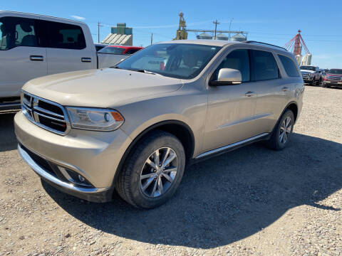 2014 Dodge Durango for sale at Truck Buyers in Magrath AB