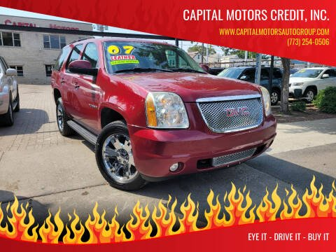 2007 GMC Yukon for sale at Capital Motors Credit, Inc. in Chicago IL
