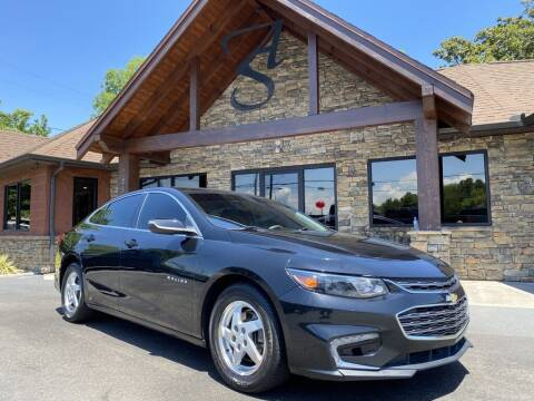 2017 Chevrolet Malibu for sale at Auto Solutions in Maryville TN