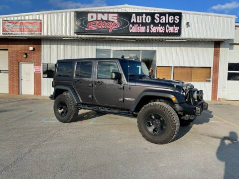 2016 Jeep Wrangler Unlimited for sale at One Stop Auto Sales, Collision & Service Center in Somerset PA