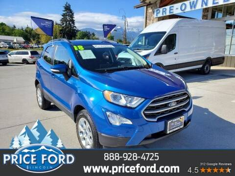 2018 Ford EcoSport for sale at Price Ford Lincoln in Port Angeles WA
