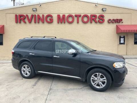 2011 Dodge Durango for sale at Irving Motors Corp in San Antonio TX