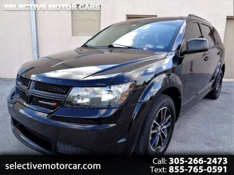 2017 Dodge Journey for sale at Selective Motor Cars in Miami FL
