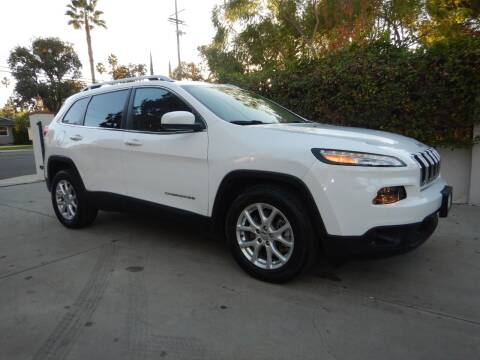 2015 Jeep Cherokee for sale at California Cadillac & Collectibles in Los Angeles CA