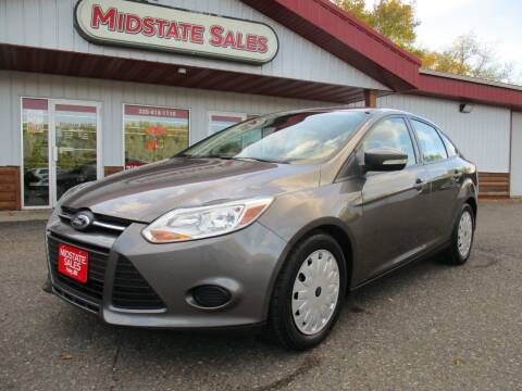 2014 Ford Focus for sale at Midstate Sales in Foley MN