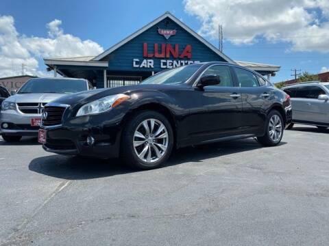 2013 Infiniti M37 for sale at LUNA CAR CENTER in San Antonio TX