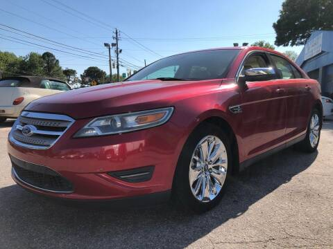 2012 Ford Taurus for sale at Capital Motors in Raleigh NC