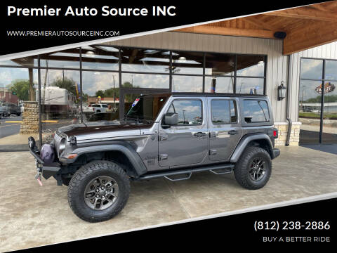 2018 Jeep Wrangler Unlimited for sale at Premier Auto Source INC in Terre Haute IN