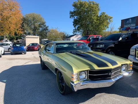 1971 Chevrolet Chevelle for sale at STL Automotive Group in O'Fallon MO
