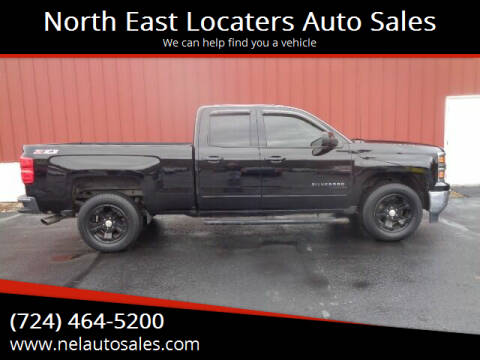 2015 Chevrolet Silverado 1500 for sale at North East Locaters Auto Sales in Indiana PA