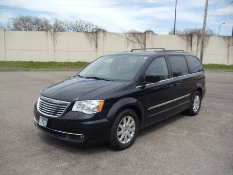 2014 Chrysler Town and Country for sale at Metro Motor Sales in Minneapolis MN