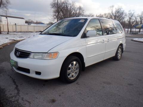 2003 Honda Odyssey for sale at RENNSPORT Kansas City in Kansas City MO