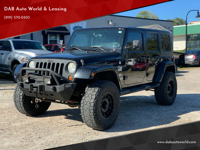 2008 Jeep Wrangler Unlimited for sale at DAB Auto World & Leasing in Wake Forest NC