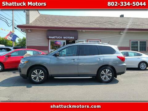 2018 Nissan Pathfinder for sale at Shattuck Motors in Newport VT