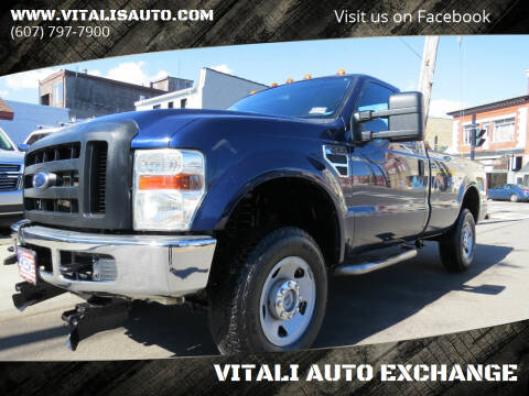2009 Ford F-250 Super Duty for sale at VITALI AUTO EXCHANGE in Johnson City NY