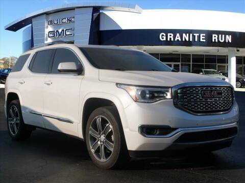 2018 GMC Acadia for sale at GRANITE RUN PRE OWNED CAR AND TRUCK OUTLET in Media PA