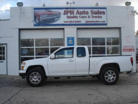 2010 Chevrolet Colorado for sale at JPH Auto Sales in Eastlake OH