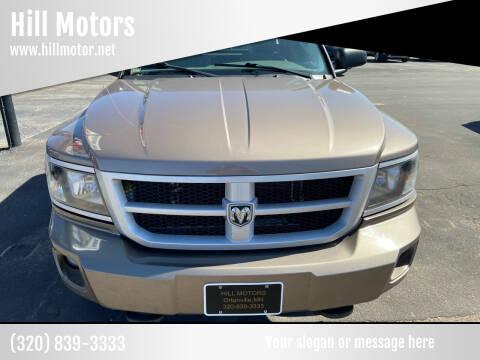 2010 Dodge Dakota for sale at Hill Motors in Ortonville MN