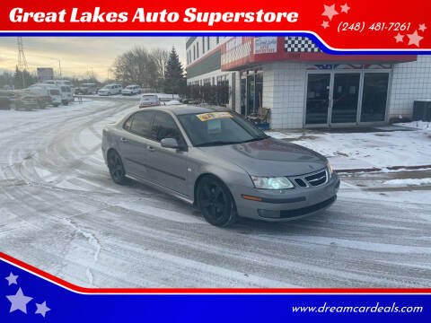 2006 Saab 9-3 for sale at Great Lakes Auto Superstore in Pontiac MI