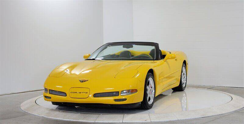 2001 Chevrolet Corvette for sale at Mershon's World Of Cars Inc in Springfield OH