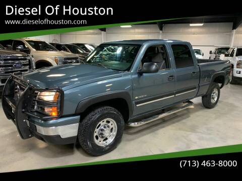 2006 Chevrolet Silverado 1500HD for sale at Diesel Of Houston in Houston TX