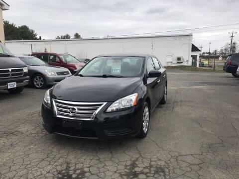 2014 Nissan Sentra for sale at Brill's Auto Sales in Westfield MA