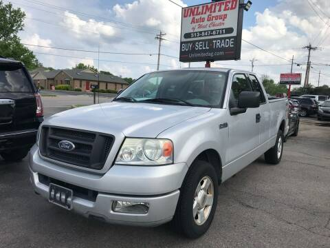 2004 Ford F-150 for sale at Unlimited Auto Group in West Chester OH