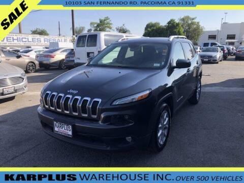 2014 Jeep Cherokee for sale at Karplus Warehouse in Pacoima CA