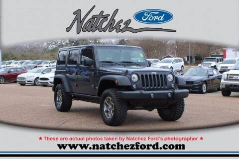 2017 Jeep Wrangler Unlimited for sale at Auto Group South - Natchez Ford Lincoln in Natchez MS