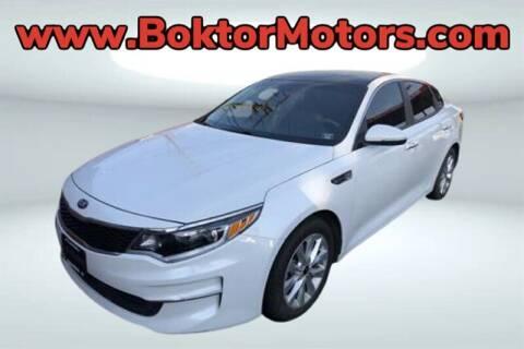 2017 Kia Optima for sale at Boktor Motors in North Hollywood CA