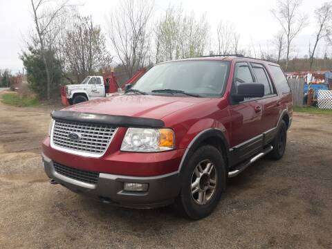 2004 Ford Expedition for sale at Classic Heaven Used Cars & Service in Brimfield MA