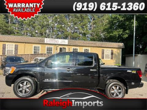 2014 Nissan Titan for sale at Raleigh Imports in Raleigh NC