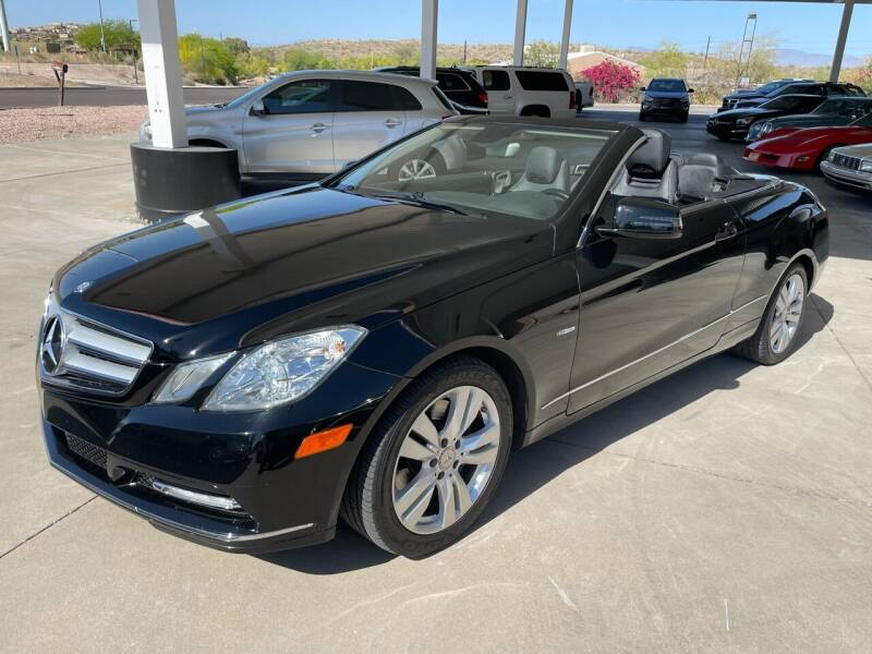 2012 Mercedes-Benz E-Class for sale at Carzz Motor Sports in Fountain Hills AZ