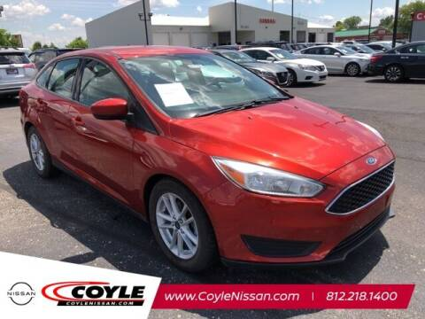 2018 Ford Focus for sale at COYLE GM - COYLE NISSAN - New Inventory in Clarksville IN