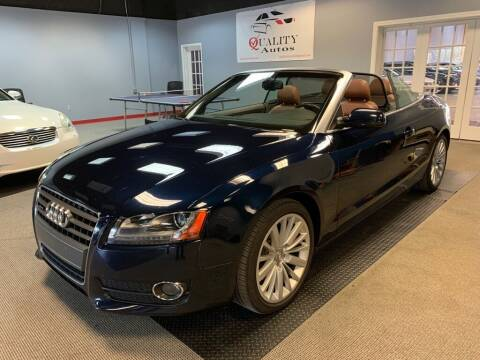 2011 Audi A5 for sale at Quality Autos in Marietta GA