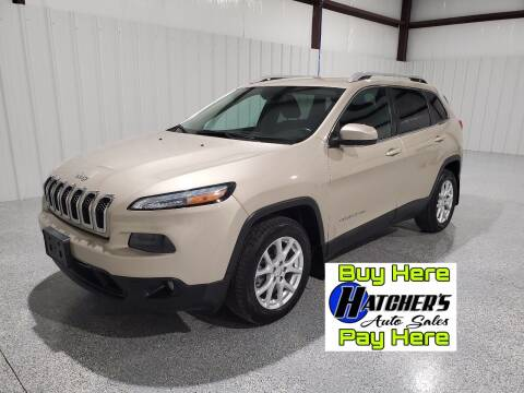 2014 Jeep Cherokee for sale at Hatcher's Auto Sales, LLC - Buy Here Pay Here in Campbellsville KY
