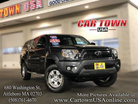 2012 Toyota Tacoma for sale at Car Town USA in Attleboro MA