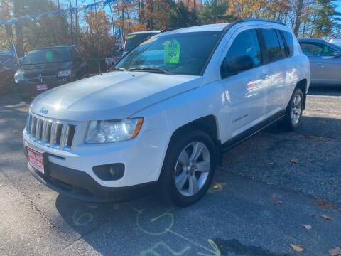 2011 Jeep Compass for sale at Brilliant Motors in Topsham ME