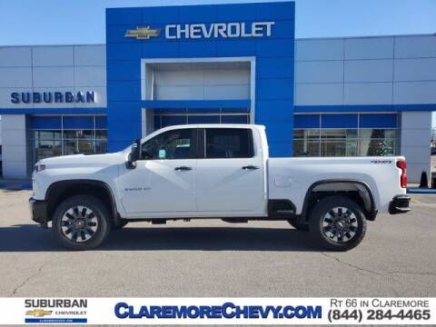 2021 Chevrolet Silverado 2500HD for sale at Suburban Chevrolet in Claremore OK