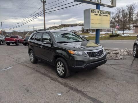 2011 Kia Sorento for sale at Route 22 Autos in Zanesville OH