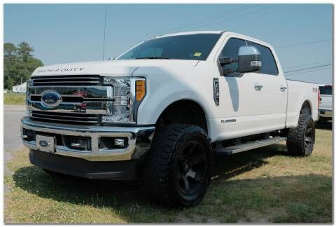 2017 Ford F-250 Super Duty for sale at STRICKLAND AUTO GROUP INC in Ahoskie NC