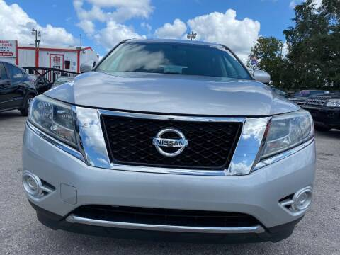 2014 Nissan Pathfinder Hybrid for sale at Millenia Auto Sales in Orlando FL