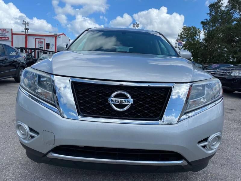2014 Nissan Pathfinder Hybrid for sale at Millenia Auto Sales in Orlando FL
